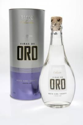 Viñas de Oro Pisco Mosto Verde Torontel / peruanischer Pisco Flasche 500 ml Abgabe nur ab 18 Jahre ! - Bild vergrößern