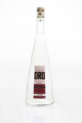Viñas de Oro Pisco Negra Criolla / peruanischer Pisco Flasche 700 ml ! Abgabe nur ab 18 Jahre ! - Bild vergrößern