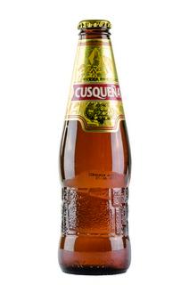 Cusquena cerveza premium/besonders leckeres peruanisches Bier Flasche 0,33 l Abgabe nur ab 18 Jahre!