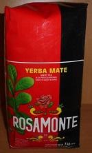 Rosamonte con palo intensiver Mate mit Stängeln Argentinien 1 kg Packung