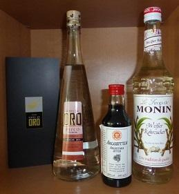 Pisco - Sour - Paket mit peruanischem Pisco Quebranta von Viñas de Oro Abgabe nur ab 18 Jahre !