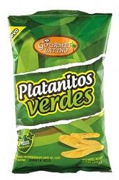 Platanitos Verdes / Chifles plátanos salados / Kochbananenchips gesalzen Pckg. 65 g