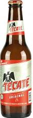Tecate cerveza / leckeres helles mexikanisches Bier 355 ml Flasche Abgabe nur ab 18 Jahre !
